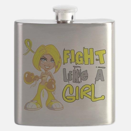 Fights Like a Girl 42.8 Sarcoma Flask