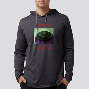 Coffee for 2 Written in Bubbles Mens Hooded Shirt