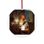 Child's Wonderland Ornament (Round)