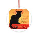 Chat Noir Ornament (Round)