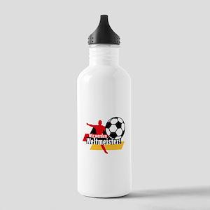 Wir werden Weltmeister! Stainless Water Bottle 1.0