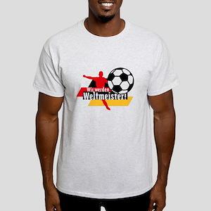 Wir werden Weltmeister! Light T-Shirt