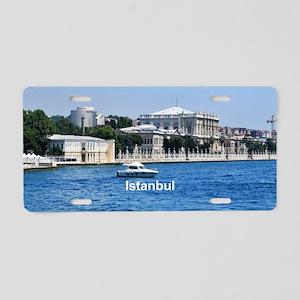 Istanbul Aluminum License Plate