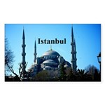 Istanbul Sticker (Rectangle)