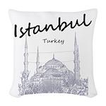 Istanbul Woven Throw Pillow