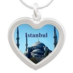 Istanbul Silver Heart Necklace