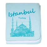 Istanbul baby blanket