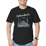 Istanbul Men's Fitted T-Shirt (dark)