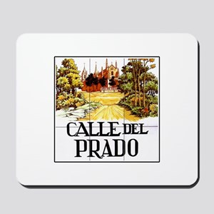 Calle del Prado, Madrid - Spain Mousepad