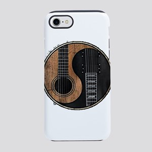 GUITAR YIN YANG VINTAGE iPhone 7 Tough Case