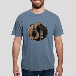 GUITAR YIN YANG VINTAGE Mens Comfort Colors Shirt