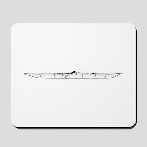 Inuit Kayak Logo Mousepad