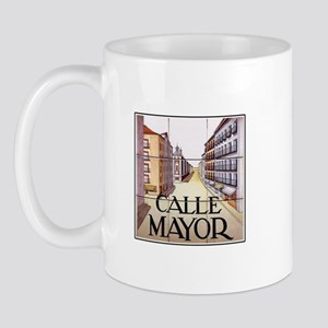 Calle Mayor, Madrid - Spain Mug
