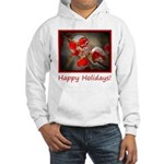 Viburnum Berries Covered with Ic Hooded Sweatshirt