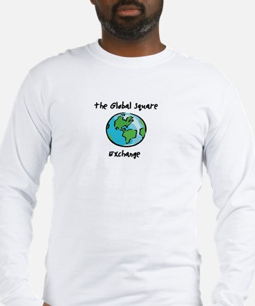 The Global Square Exchange Long Sleeve T-Shirt