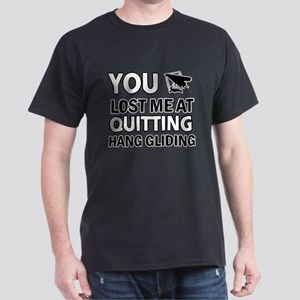 Quirky Hang Gliding designs Dark T-Shirt