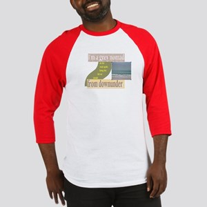 grey nomad on the road again Baseball Jersey