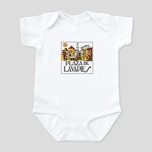 Plaza de Lavapiés, Madrid - Spain Infant Bodysuit