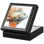 Iguana Keepsake Box