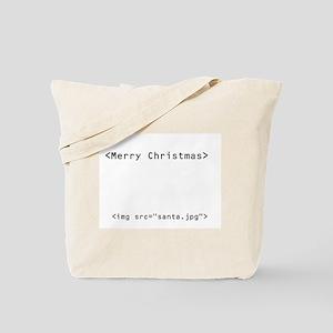 Geek Christmas Tote Bag