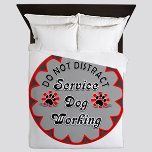 SERVICE DOG SHOP Queen Duvet