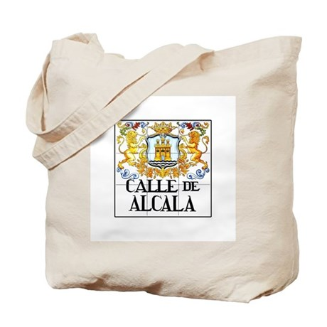 Calle de Alcalá, Madrid - Spain Tote Bag