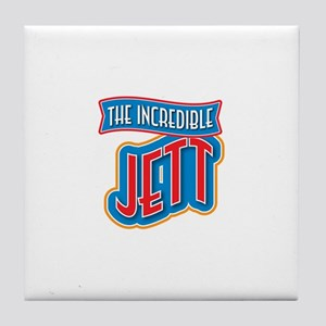 The Incredible Jett Tile Coaster