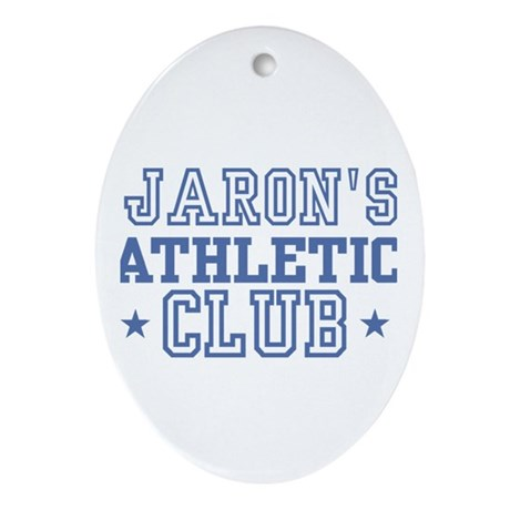 Jaron Oval Ornament