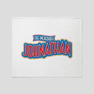 The Incredible Johnathan Throw Blanket