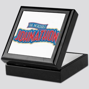 The Incredible Johnathon Keepsake Box