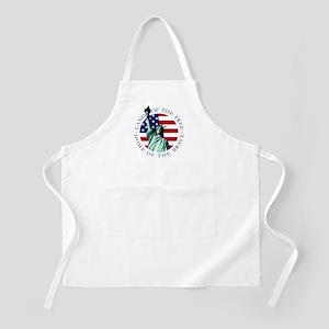 Liberty & American flag BBQ Apron
