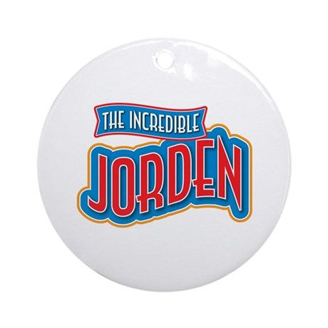 The Incredible Jorden Ornament (Round)