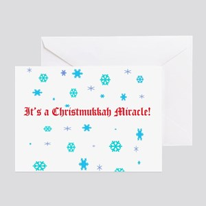 Christmukkah Miracle Greeting Cards (Pk of 10)