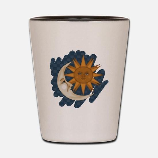Starry Nite Shot Glass