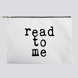 read to me 10x10 Makeup Pouch
