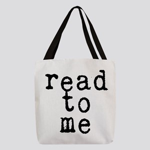 read to me 10x10 Polyester Tote Bag