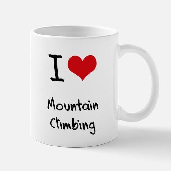 I love Mountain Climbing Mug