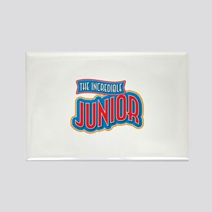 The Incredible Junior Rectangle Magnet