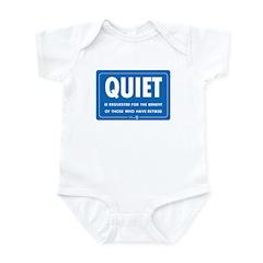 Quiet! Infant Bodysuit