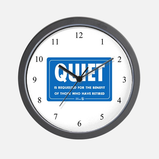 Quiet! Wall Clock
