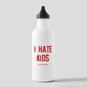 I Hate Kids Water Bottle