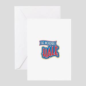The Incredible Kale Greeting Card