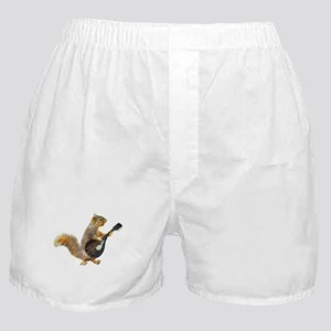 Squirrel Mandolin Boxer Shorts