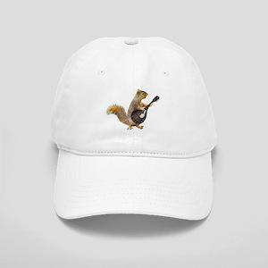 Squirrel Mandolin Baseball Cap