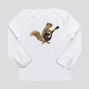 Squirrel Mandolin Long Sleeve T-Shirt