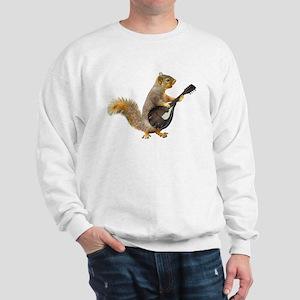 Squirrel Mandolin Sweatshirt