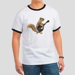 Squirrel Mandolin T-Shirt