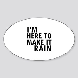 Funny Designs Sticker (Oval)