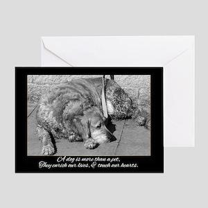 Pet Dog Sympathy Card - Loss Of Pet