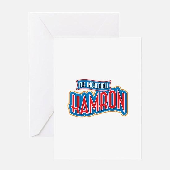 The Incredible Kamron Greeting Card